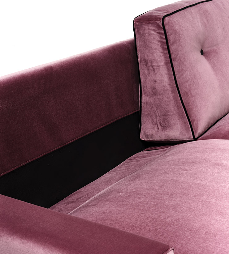 Mussi Roma sofa stop cover