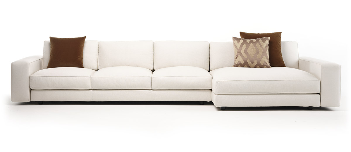 Mussi Sinfonia sofa in white