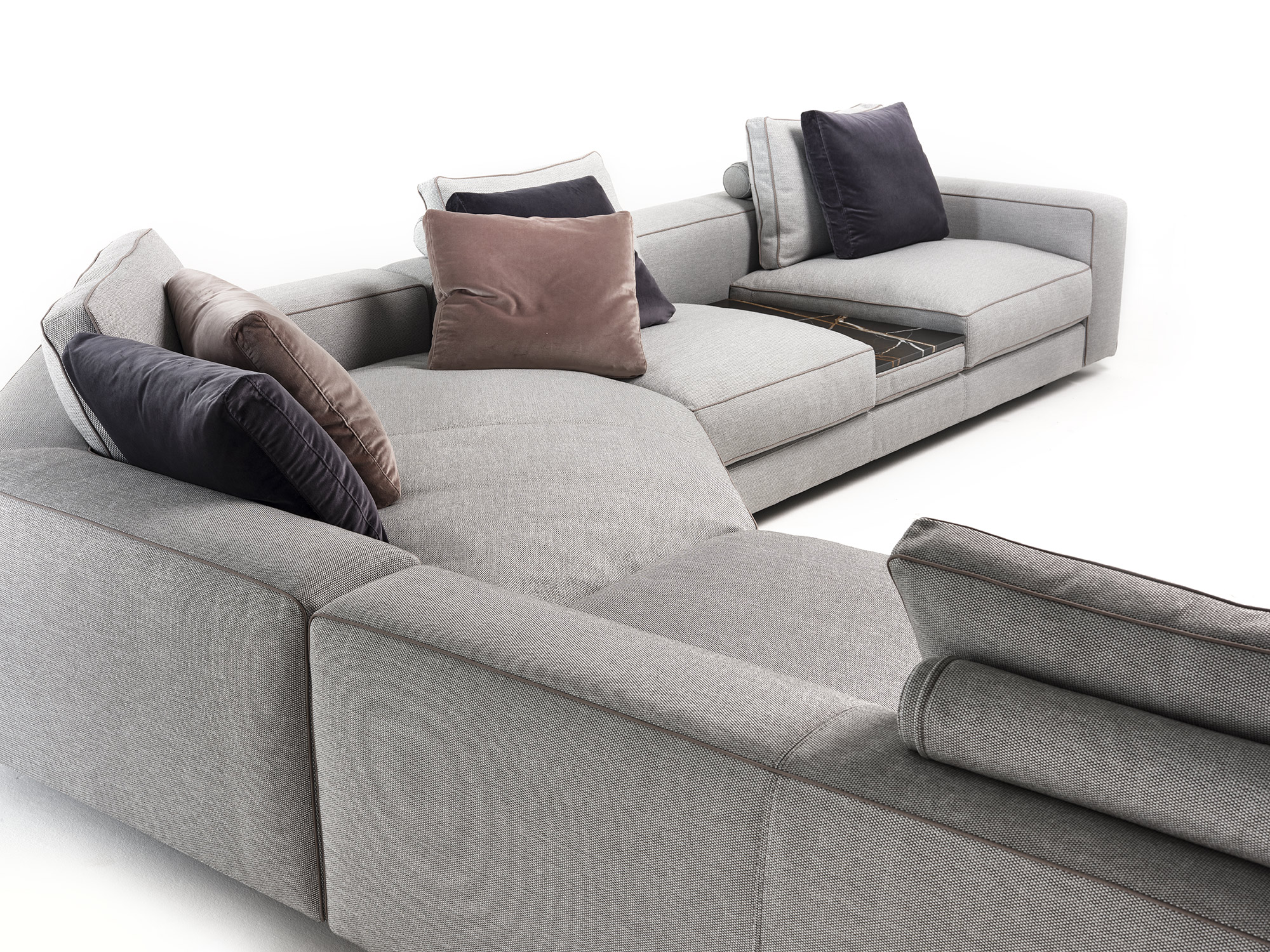 Mussi Sinfonia sectional sofa back