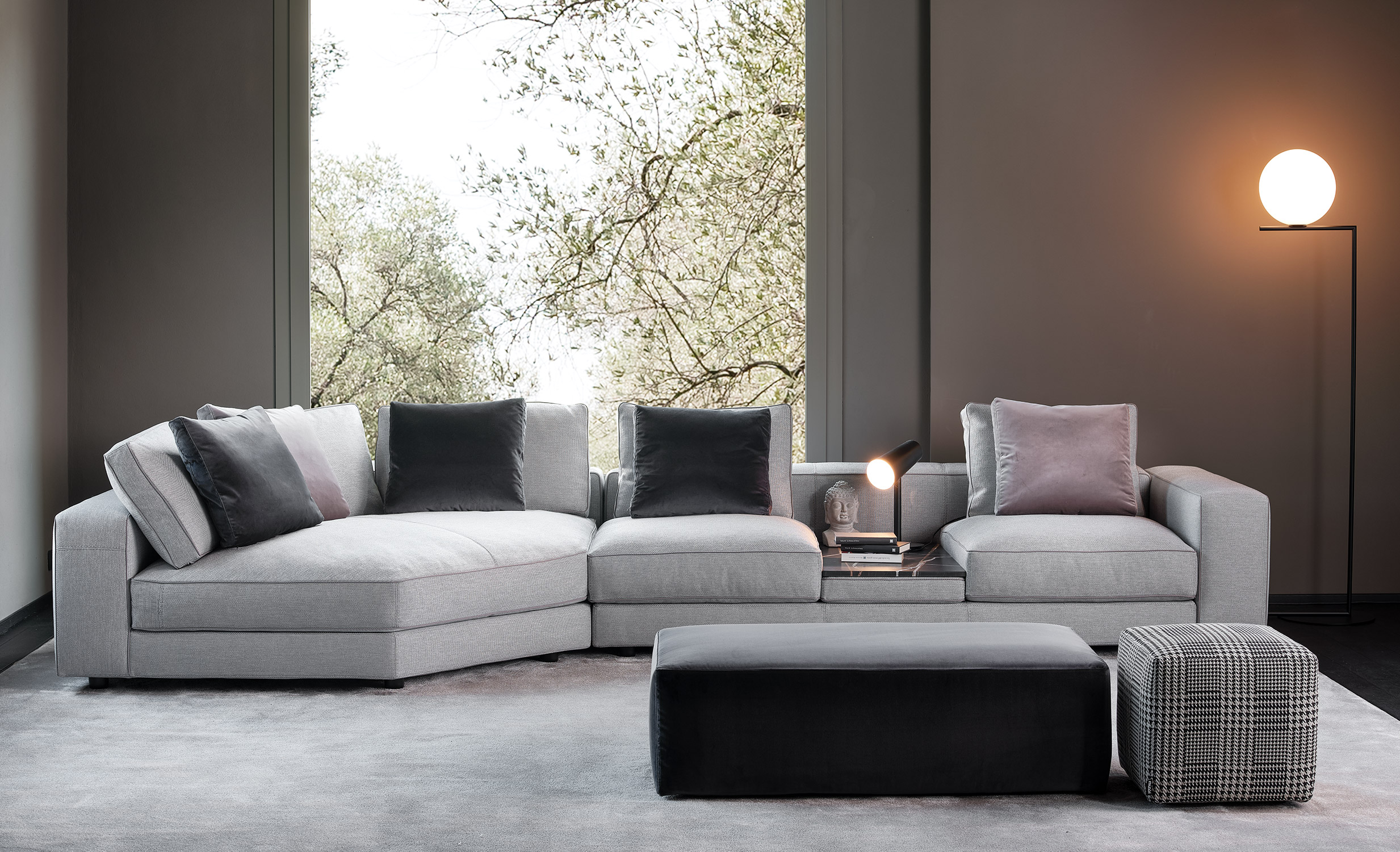Mussi Sinfonia sectional sofa composition