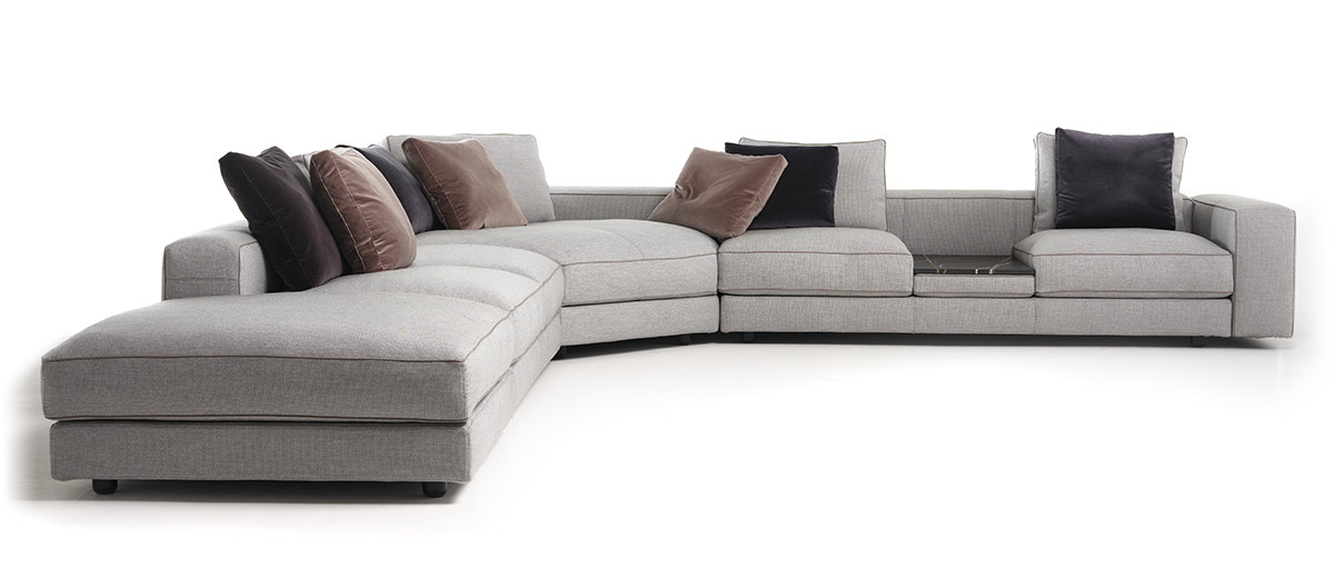 Mussi Sinfonia sectional sofa