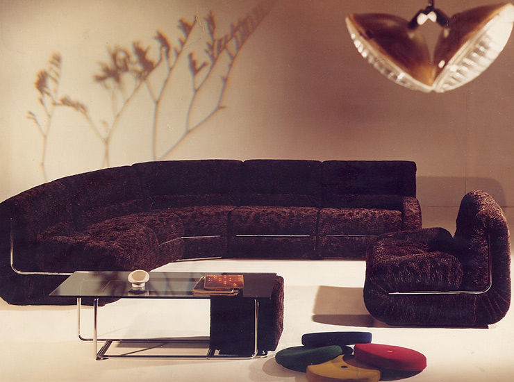Mussi sectional sofa '60s - '70s