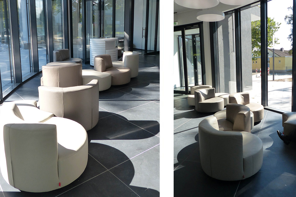 Mussi contract projects: Firma Heinrich Georg GmbH interiors armchairs