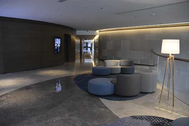 Mussi contract projects: Marriott Ocean Park Hong Kong interiors